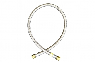 1/4 LH Steel Hose Assembly